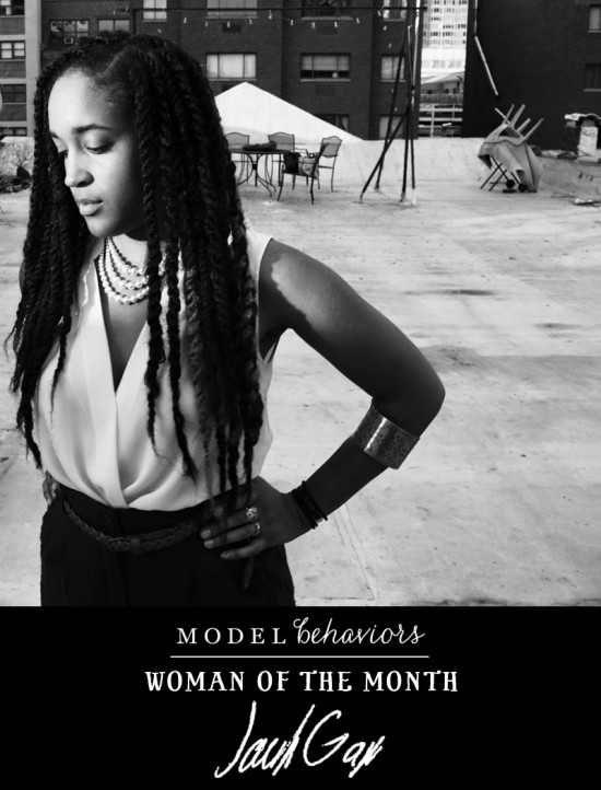 Jackie Gage is WOMAN OF THE MONTH on Model Behaviors!