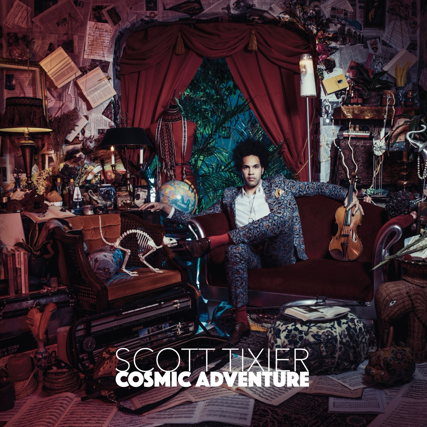 Scott Tixier's 'Cosmic Adventure' included in two 'Best Of' roundups (Bandcamp Daily & Archaic Pop)