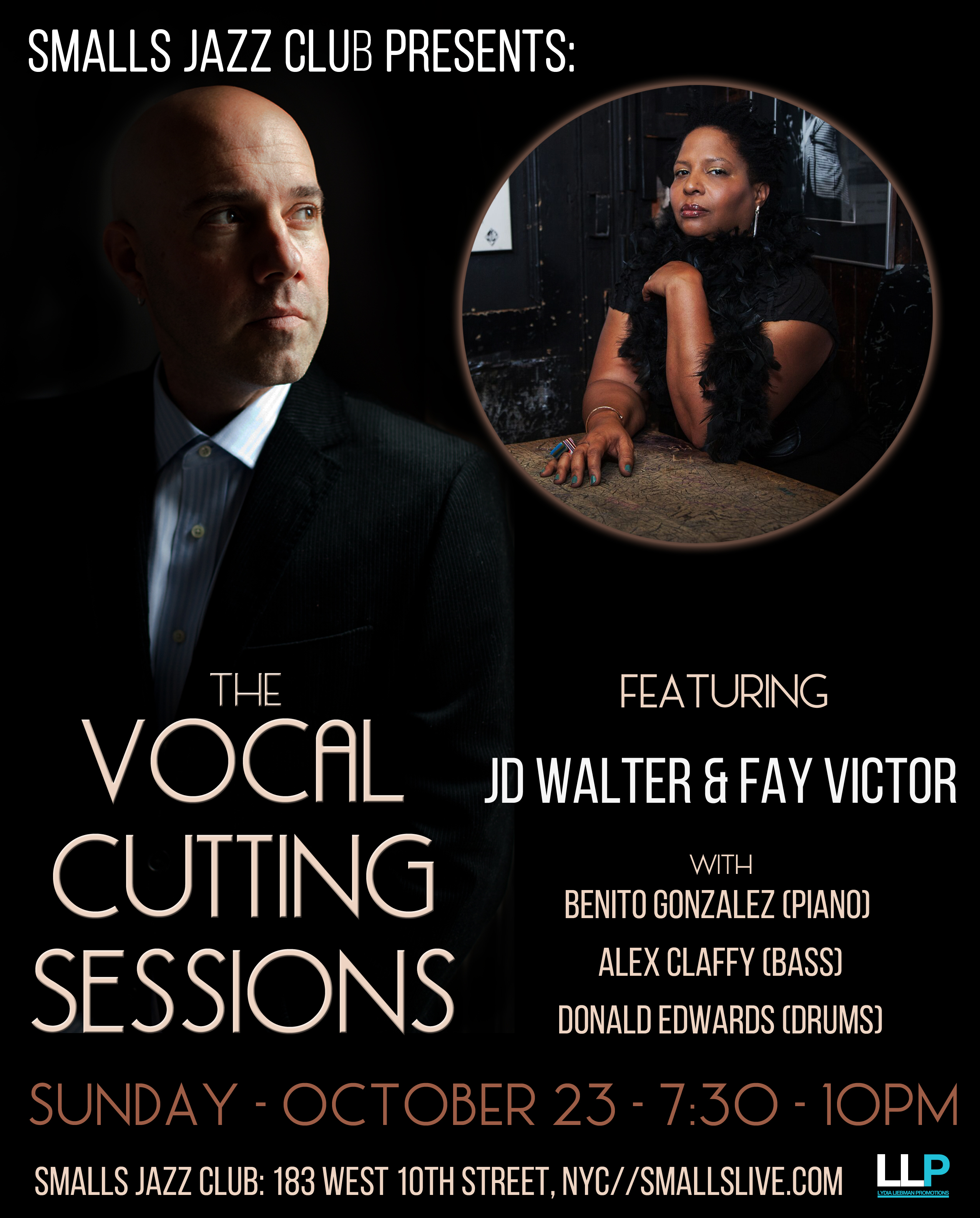 Smalls Presents the first Vocal Cutting Sessions with JD Walter f/Fay Victor