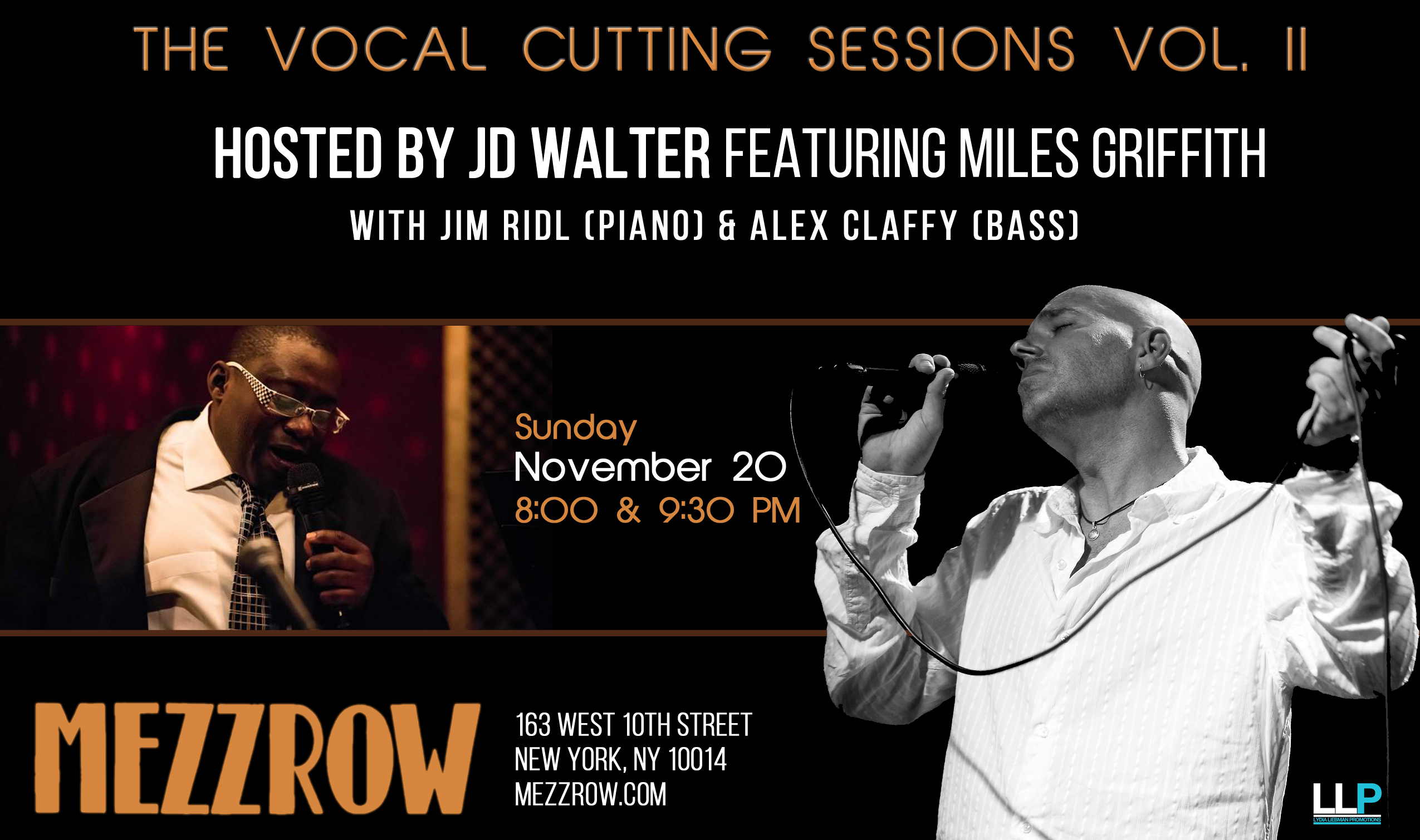 JD Walter Presents Second Vocal Cutting Session at Mezzrow with guest Miles Griffith