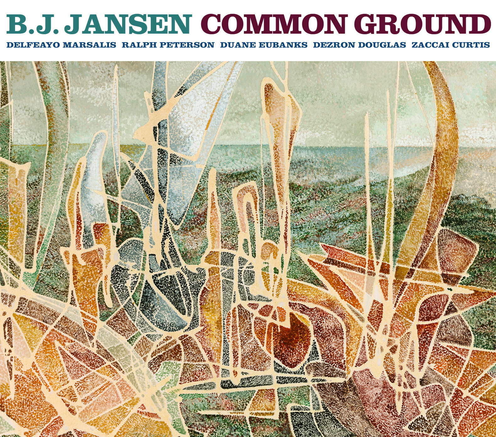 "Respected Baritone Saxophonist B.J. Jansen Emerges with his Tenth Project ""Common Ground"", due out 6/23/17"