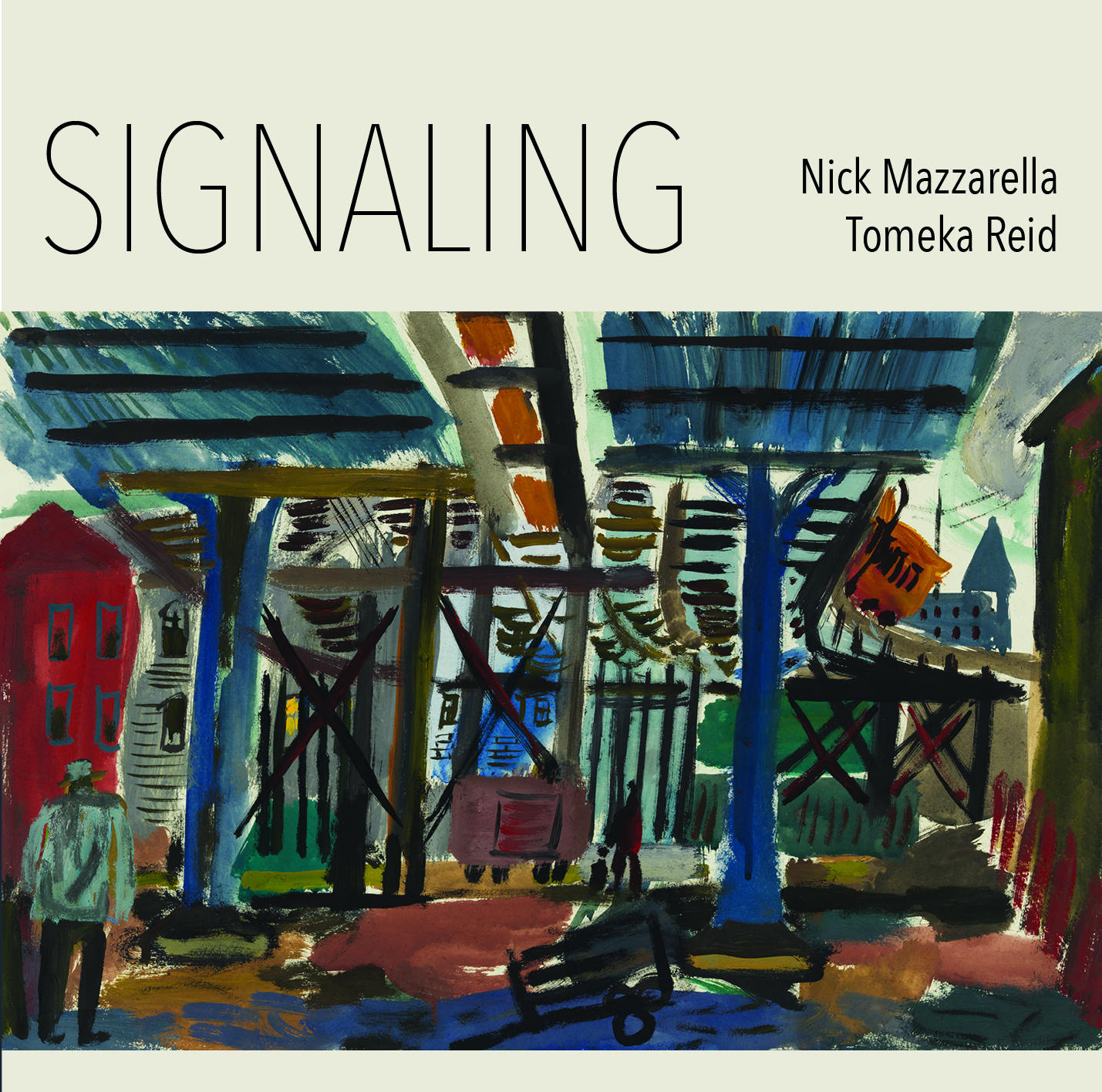 "New York City Jazz Record Reviews Nick Mazzarella & Tomeka Reid's ""Signaling"""