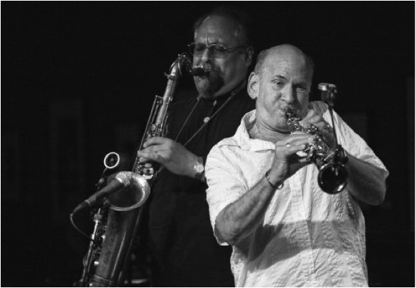 "Dave Liebman & Joe Lovano's ""Compassion: The Music of John Coltrane"" Receives a 4- Star Review from Downbeat"