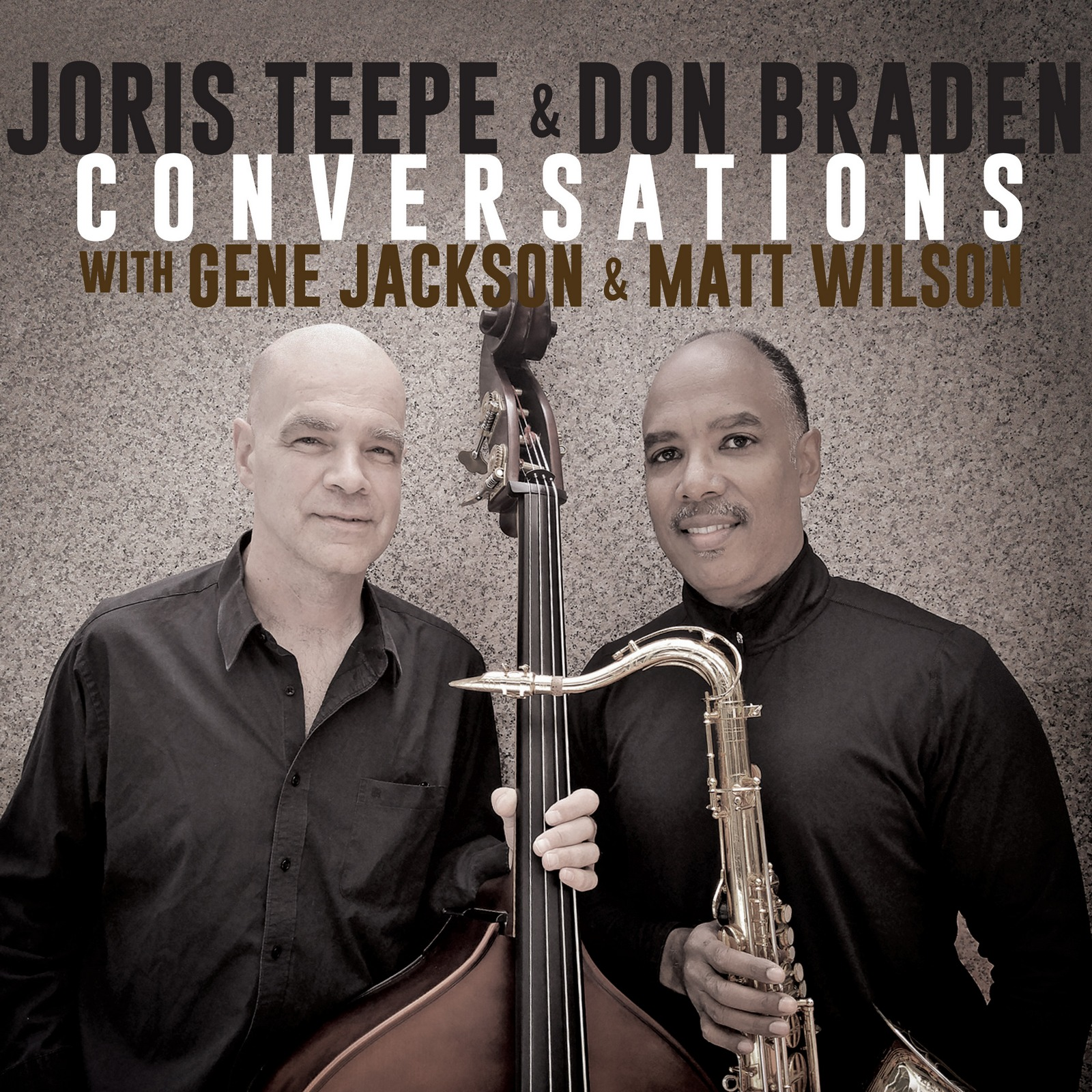 "New York City Jazz Record Reviews Joris Teepe & Don Braden's ""Conversations"""