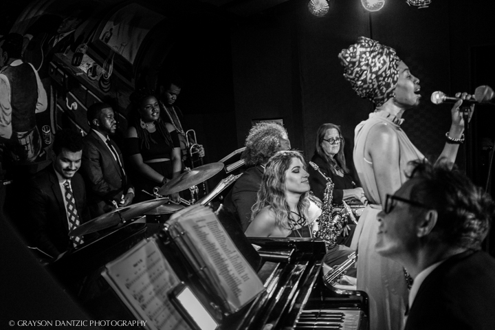 "The JC Hopkins Biggish Band Presents ""Meet Me at Minton's"" 8/2 at the Slipper Room, NYC"