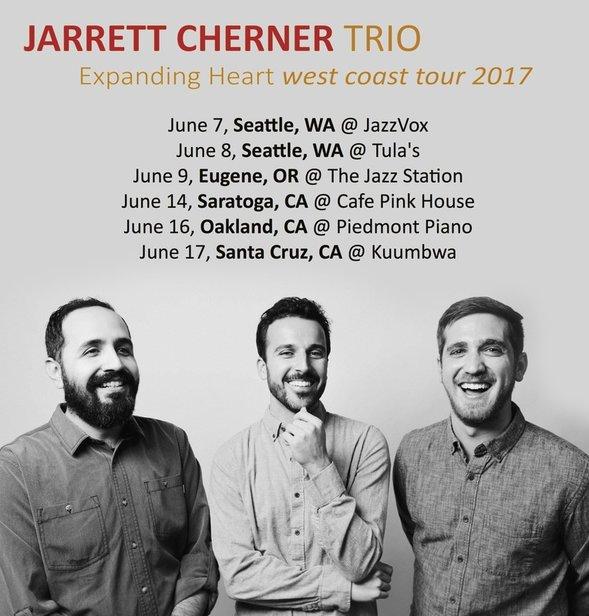 Jarrett Cherner Announces West Coast Tour (June 2017)