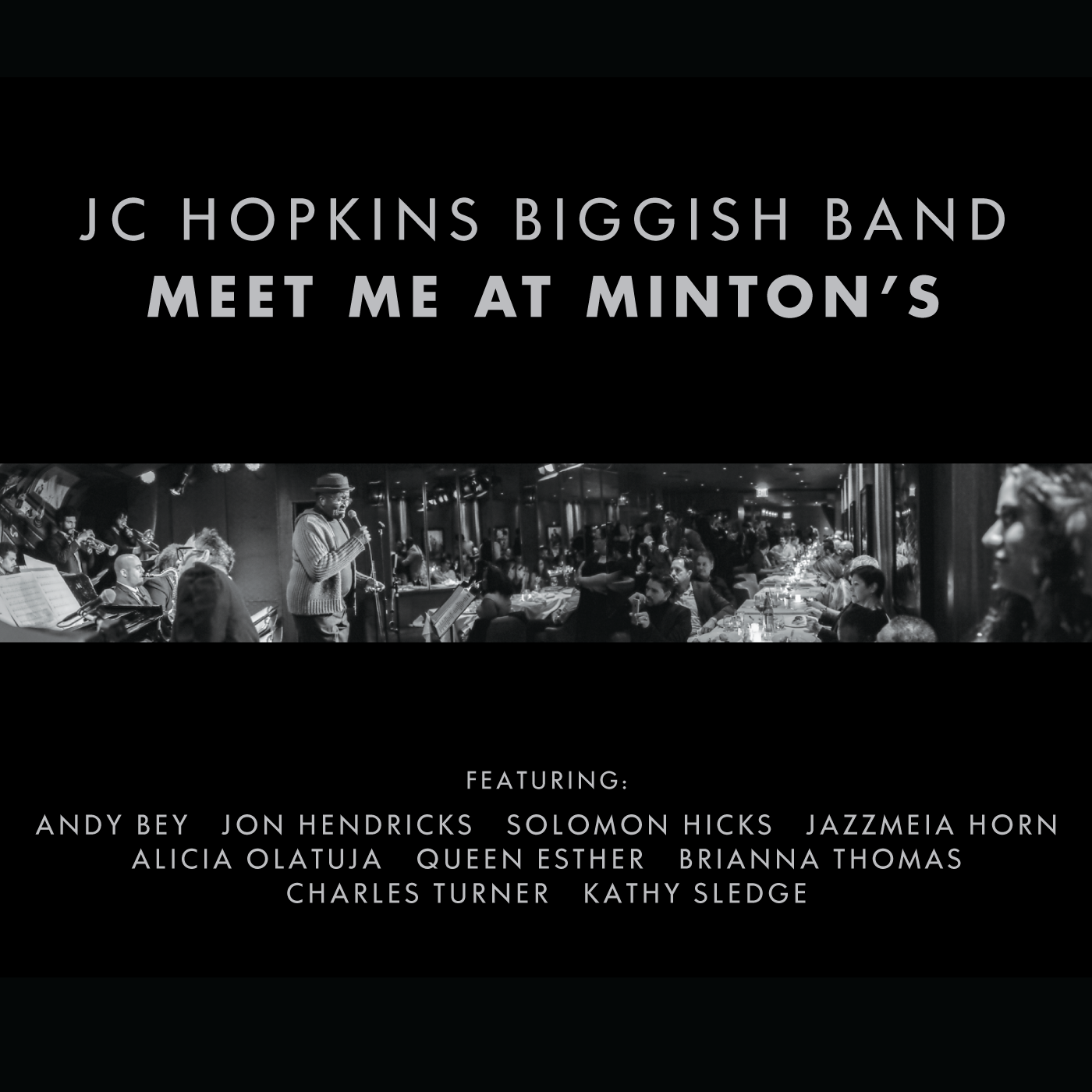 "Audiophile Audition Reviews JC Hopkins Biggish Band's ""Meet Me at Minton's"""