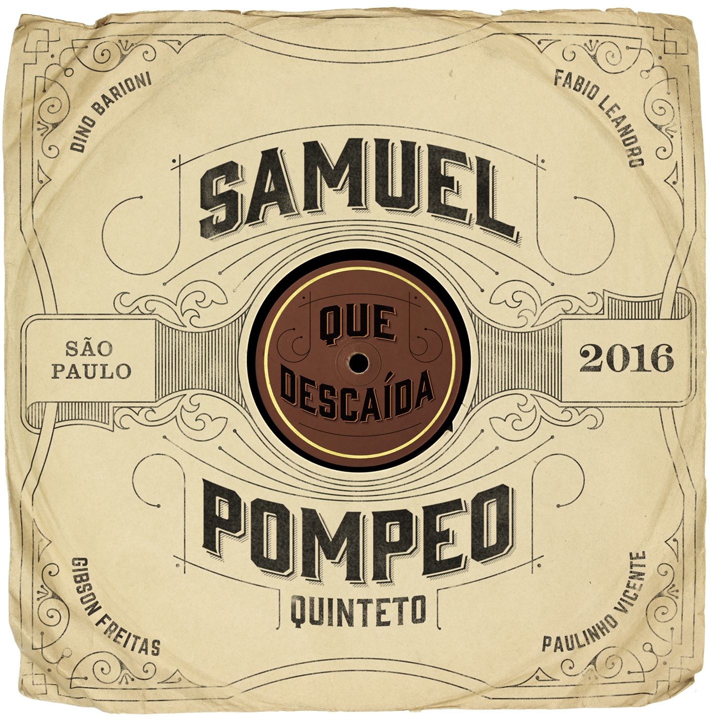 "World Music Report Reviews Samuel Pompeo Quinteto's ""Que Descaída"""