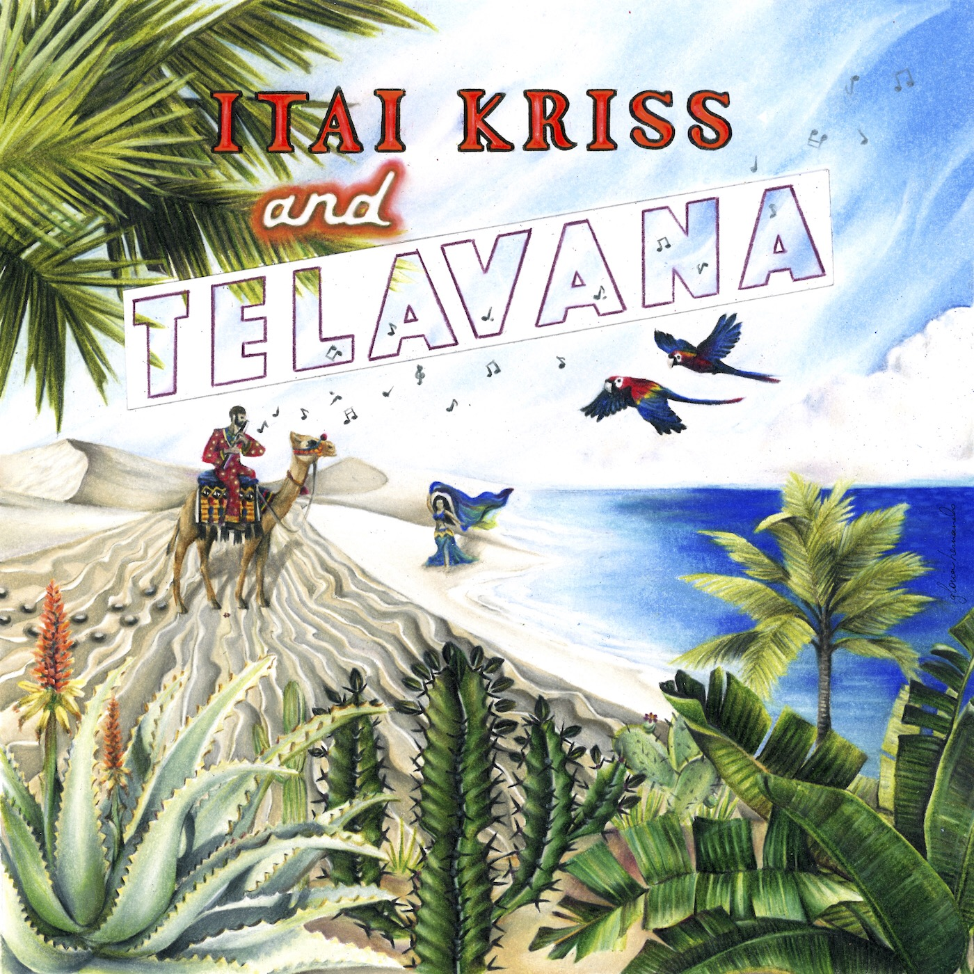 "NEW RELEASE: Flutist and Composer Itai Kriss Announces Release of ""TELAVANA"""