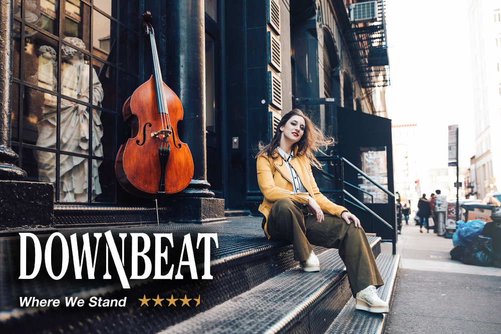 """REVIEW: Adi Meyerson's """"Where We Stand"""" Gets a 4.5 Star Review from Downbeat"""