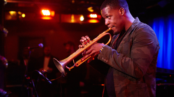 Keyon Harrold Joins Ted Panken for Desert Island Discs at the National Jazz Museum in Harlem