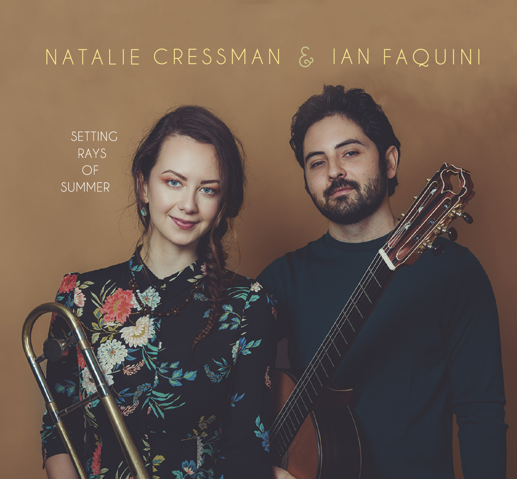 """OUT TODAY: Natalie Cressman & Ian Faquini Release Collaborative Album """"Setting Rays Of Summer"""""""