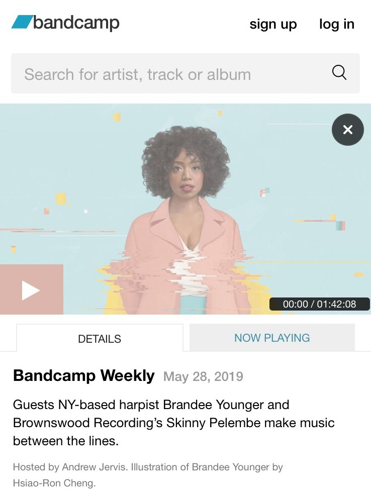 INTERVIEW: Bandcamp Weekly Features Brandee Younger!