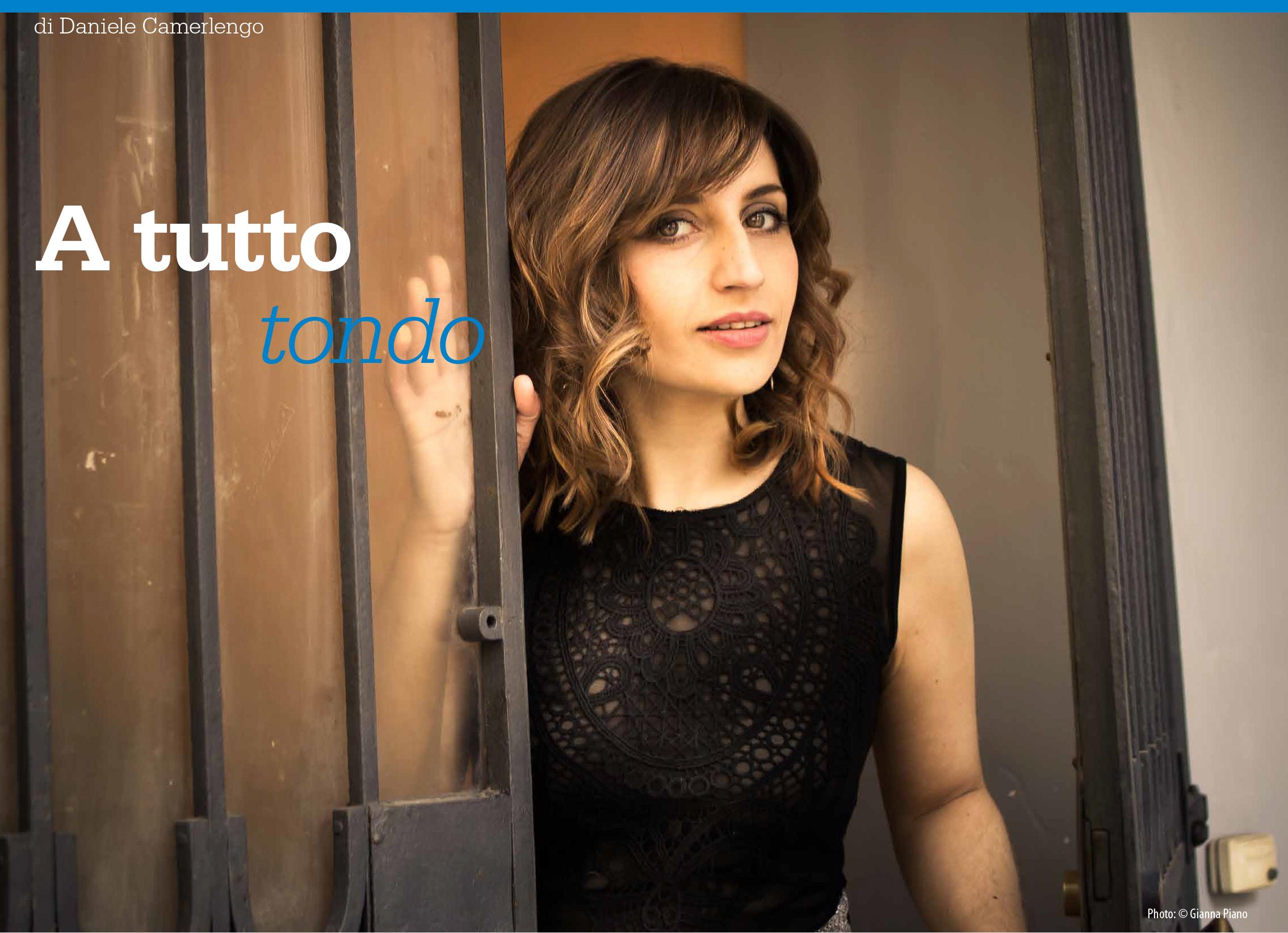 FEATURE: Chiara Izzi in SUONO Magazine (Italy)