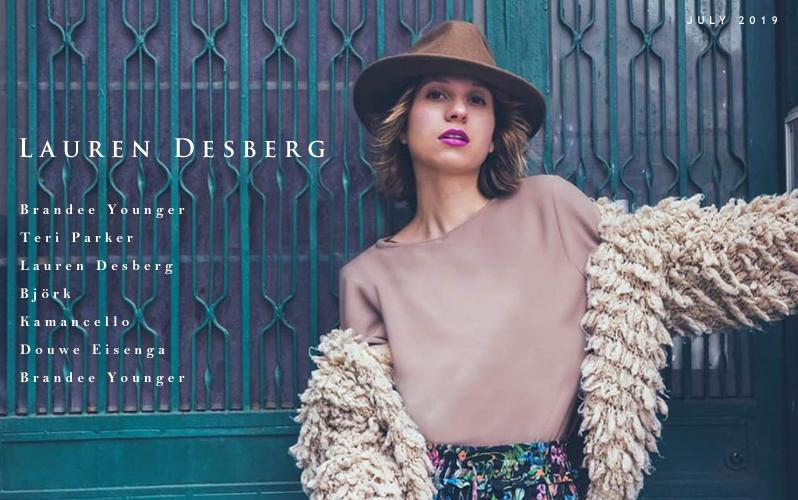 REVIEW/FEATURE: Lauren Desberg Featured on Textura.com