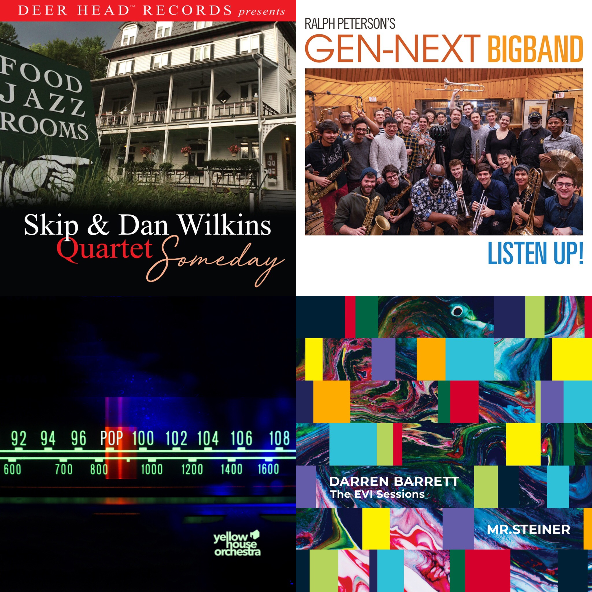 REVIEW: Darren Barrett, Ralph Peterson, Yellow House Orchestra and Skip Wilkins Reviewed by Musical Memoirs