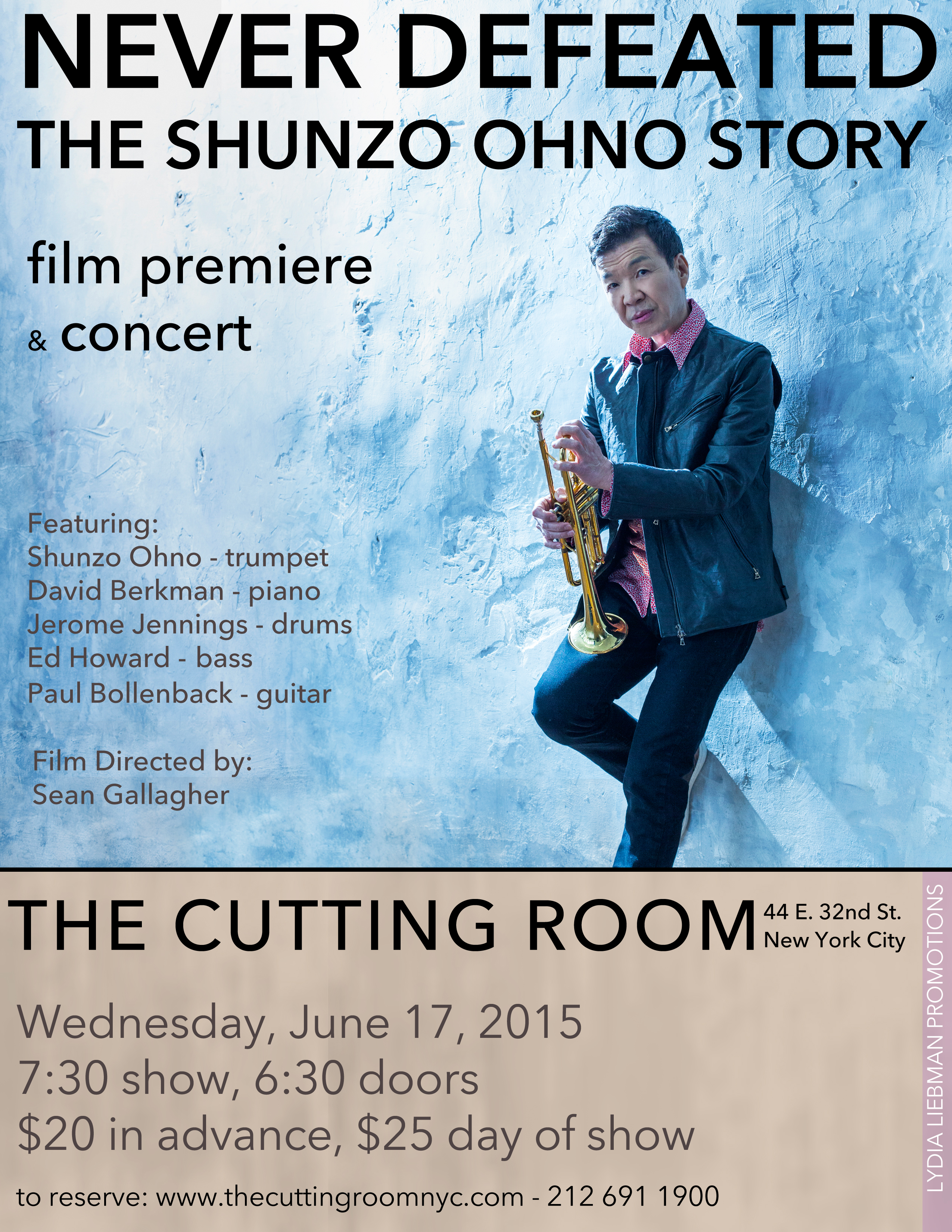 Shunzo Ohno, The Cutting Room, NYC, 6/17/15