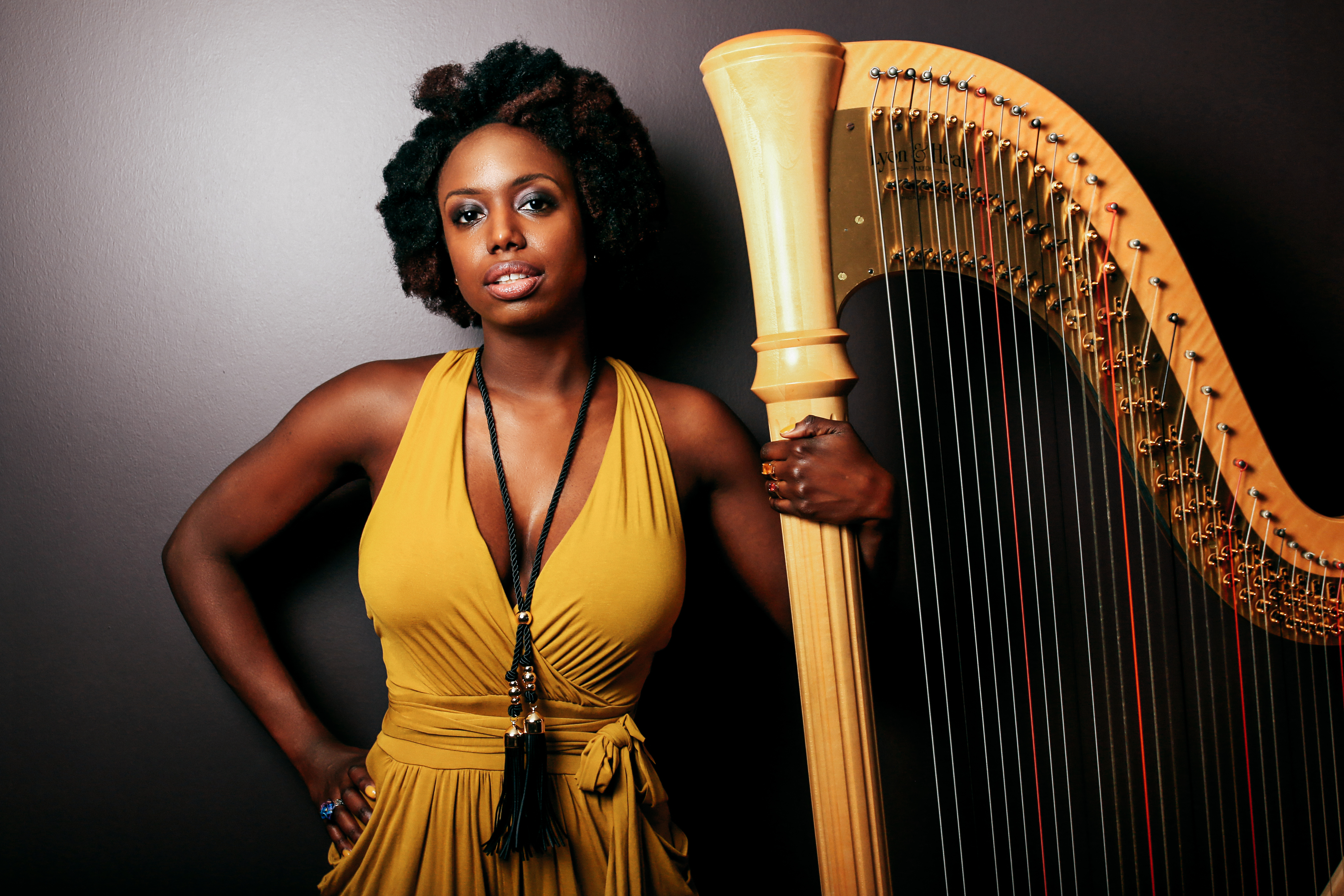 Hartford-Trained Musician Brandee Younger Brings Contemporary Edge to Concert Harp – WNPR
