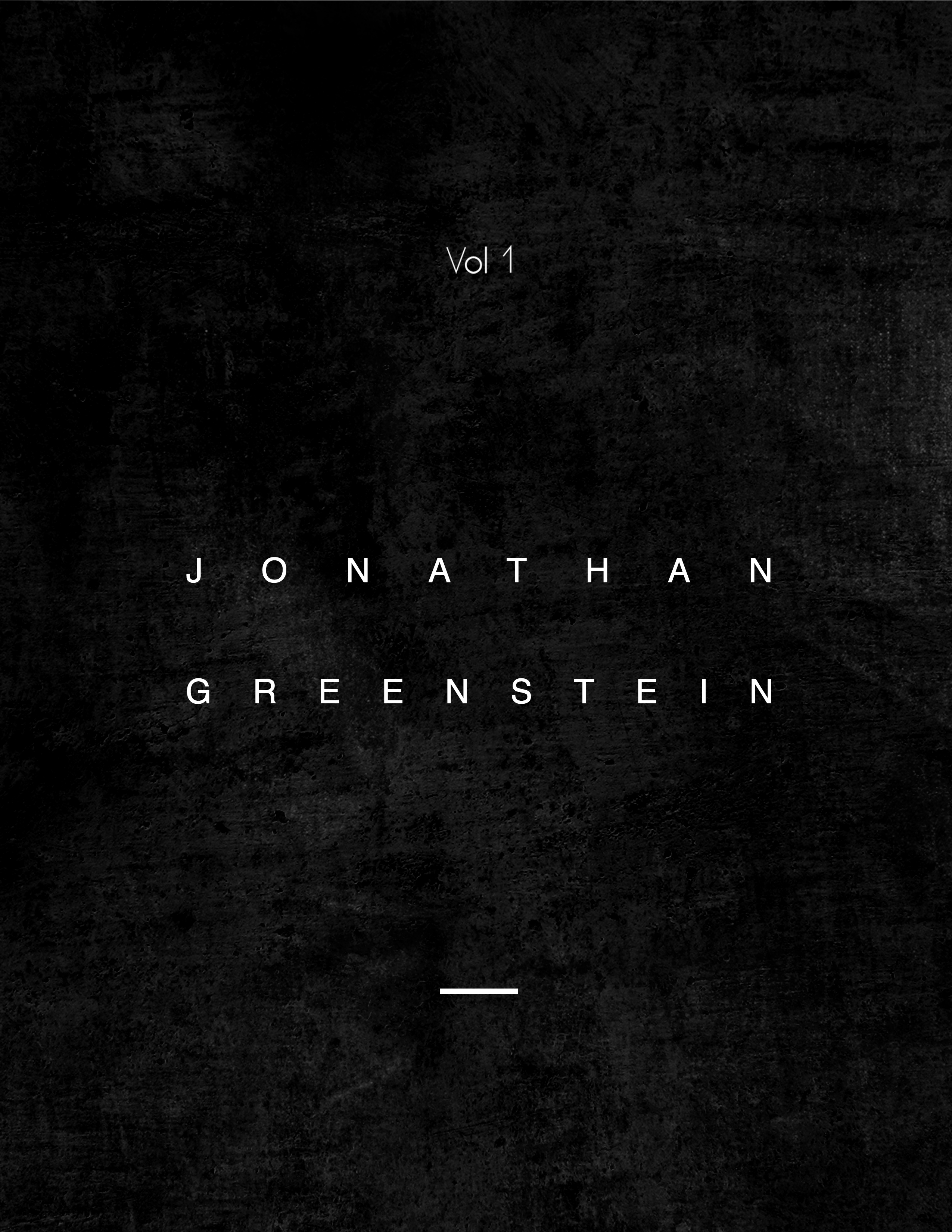 "Saxophonist and composer Jonathan Greenstein Releases ""Vol 1"", the first of three EP's to be released this year"