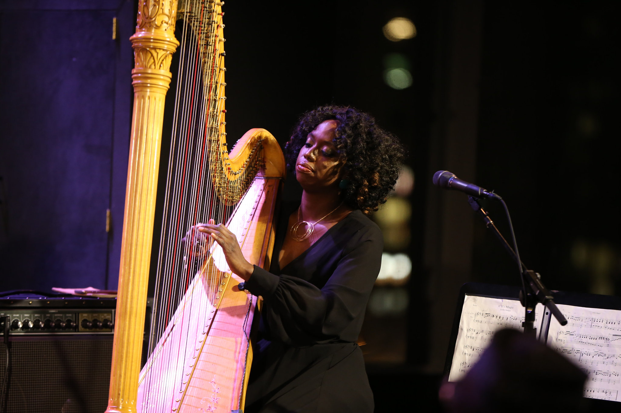 Brandee Younger, a Harpist Finding Her Way to Jazz – Feature in the New York Times