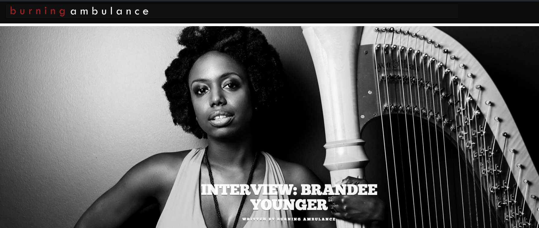 Interview: Brandee Younger on Burning Ambulance