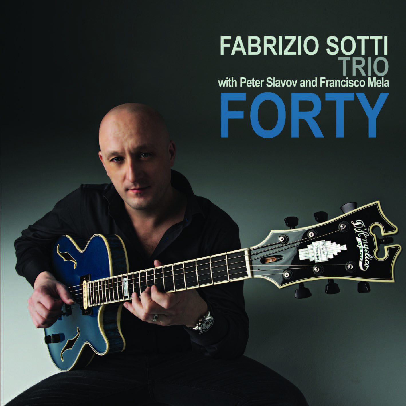 James Nadal of All About Jazz Gives Fabrizio Sotti's 'Forty' 4 Stars!