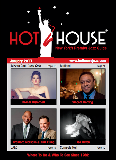 Brandi Disterheft Featured in this Month's Hot House