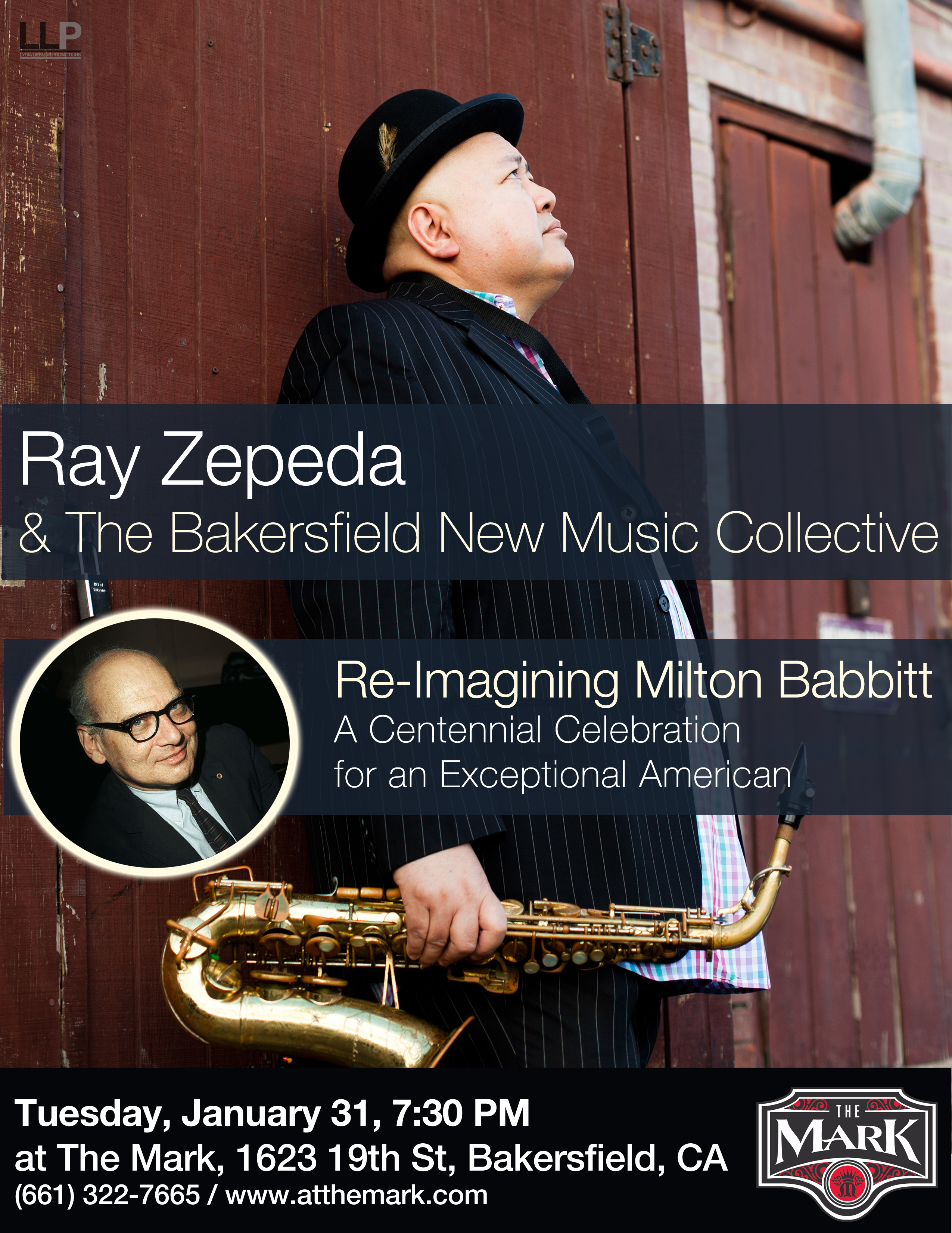 Ray Zepeda & The Bakersfield New Music Collective Celebrates Milton Babbitt at 100