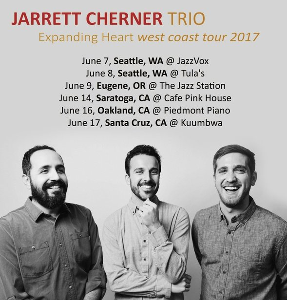 Jarrett Cherner Announces West Coast Tour (June 2017)