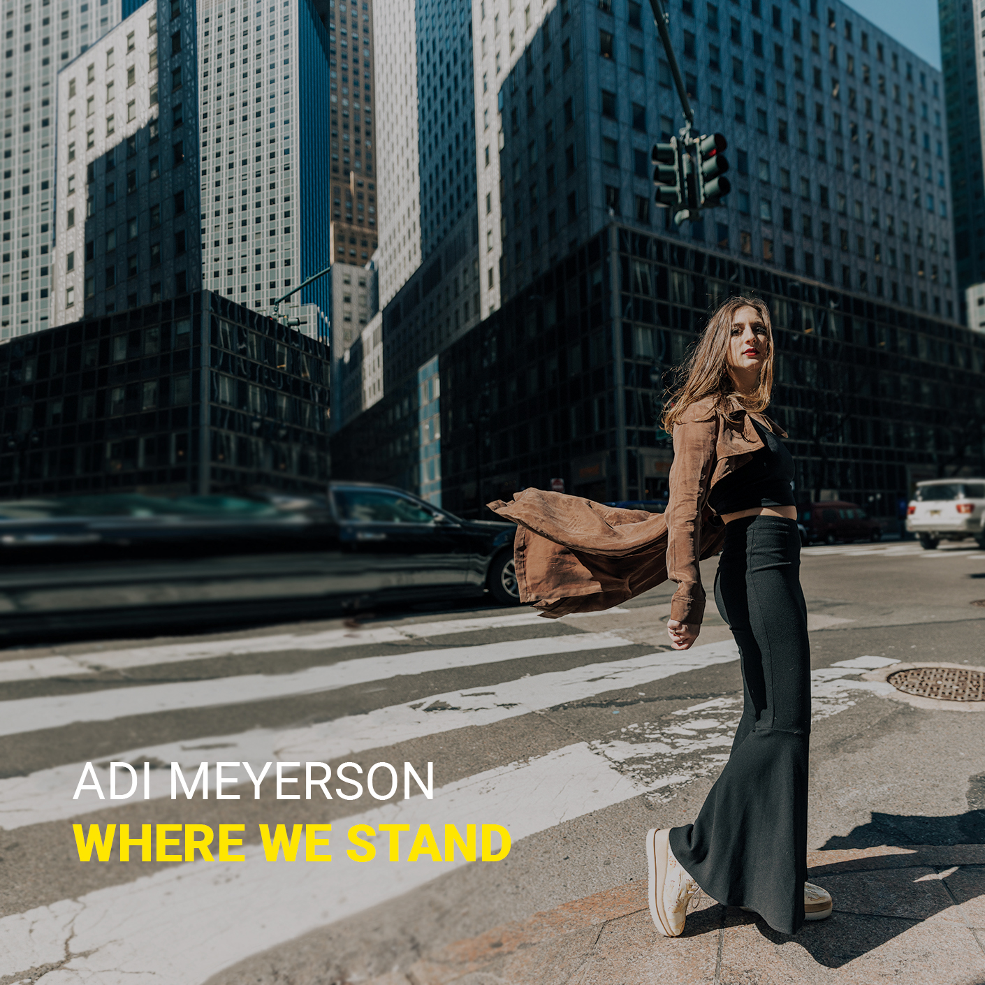 "FEATURE: Jazz Station Picks Adi Meyerson's ""Where We Stand"" as Album of the Month"