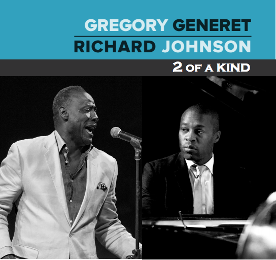 Gregory Generet & Richard Johnson Announce the Release of 2 Of A Kind (6/4)