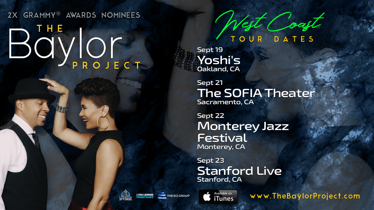 2X GRAMMY® Nominated The Baylor Project To Appear in CA this September
