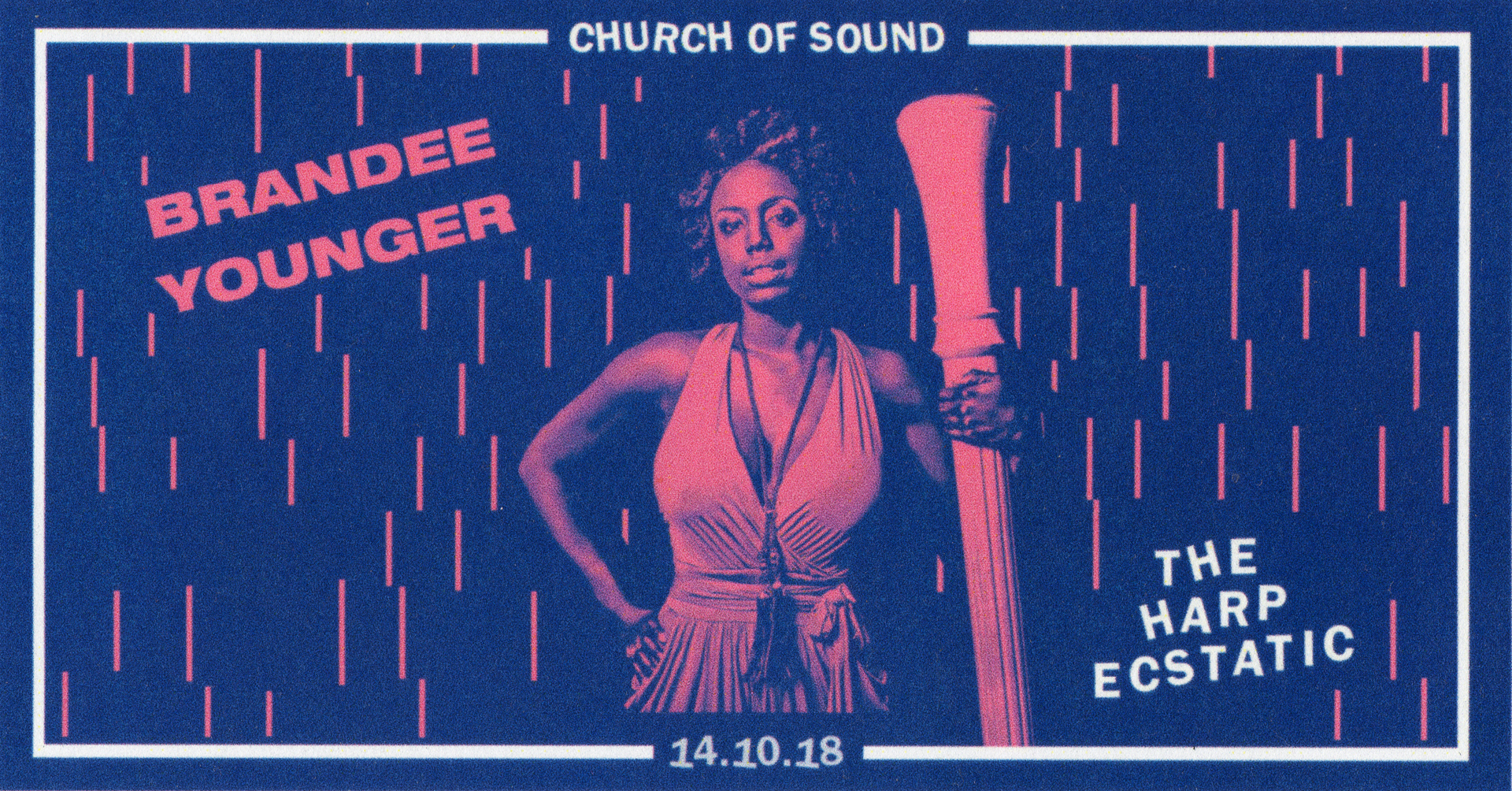 SPECIAL ANNOUNCEMENT: Brandee Younger Announces Performance at Church of Sound, London