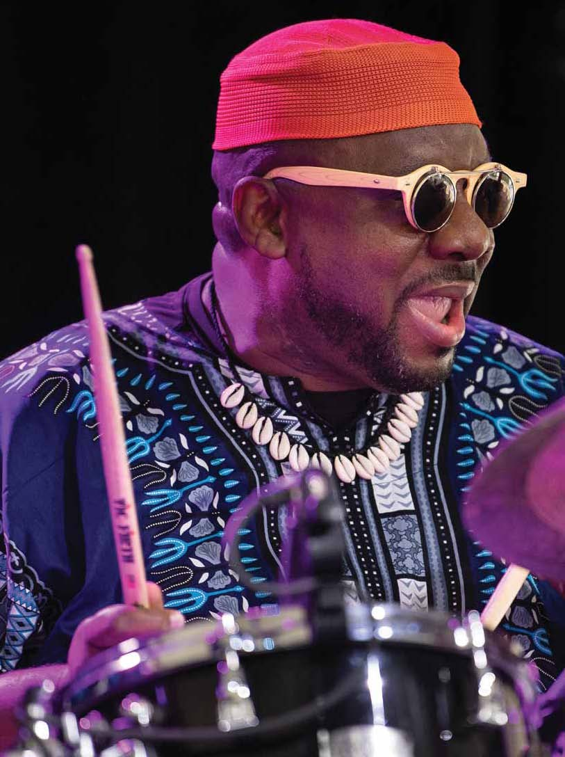 FEATURE: Downbeat Features Ralph Peterson in December Issue
