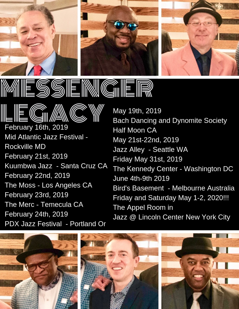 SPECIAL ANNOUNCEMENT: Ralph Peterson's Messenger Legacy Prepares for New Spring Release with Extensive International Tour