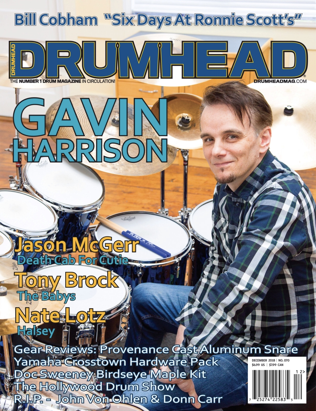 "LISTING: Drumhead Magazine Includes Scott Petito's ""Rainbow Gravity"" and Jeff Siegel's ""London Live"""