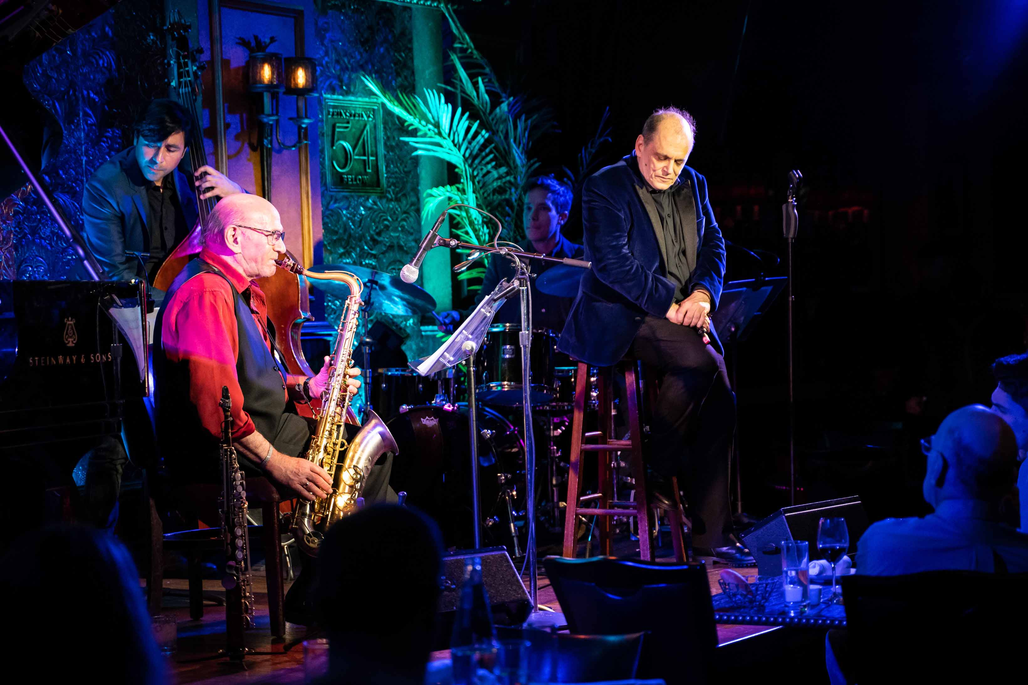 BROADWAY WORLD: John Minnock And Dave Liebman Hit the Stage At Feinstein's/54 Below