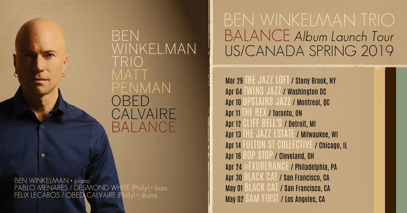"Ben Winkelman Kicks Off His ""Balance"" Tour!"