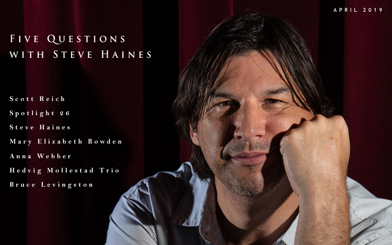 LEAD STORY: Textura Reviews & Interviews Steve Haines!