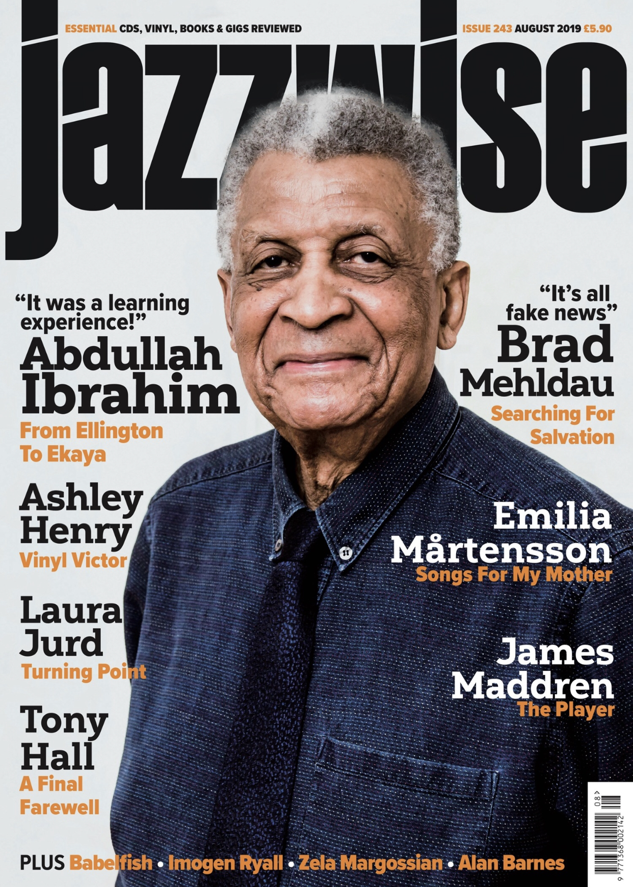 JAZZWISE: Sam Newsome and Ralph Peterson Reviewed in August 2019 Issue