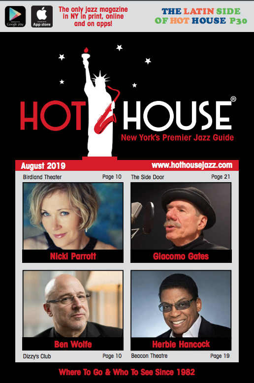 FEATURE: Ben Wolfe on the Cover of Hot House, August 2019 Edition