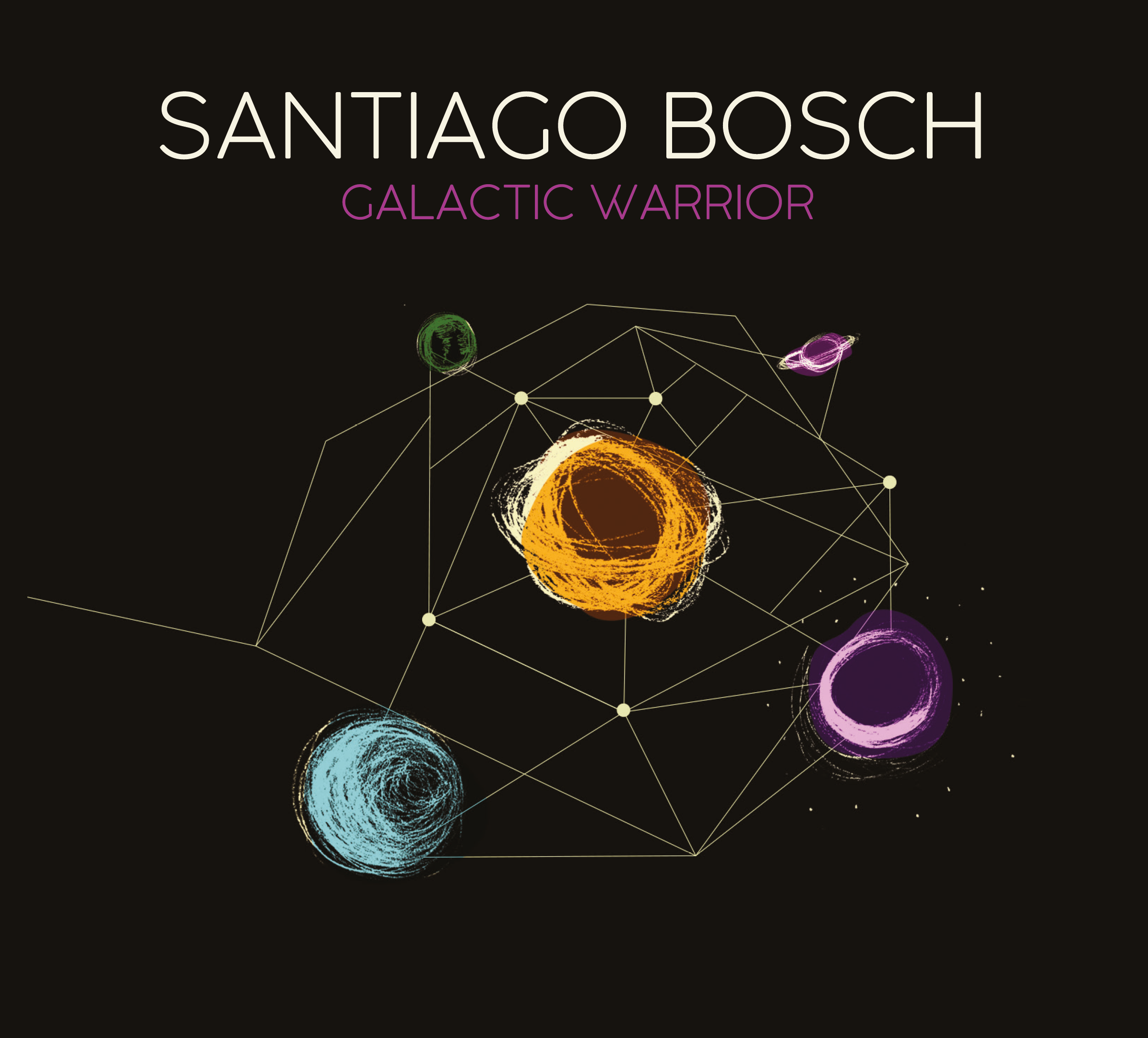 "NEW RELEASE: Santiago Bosch To Release ""Galactic Warrior"" on November 14"