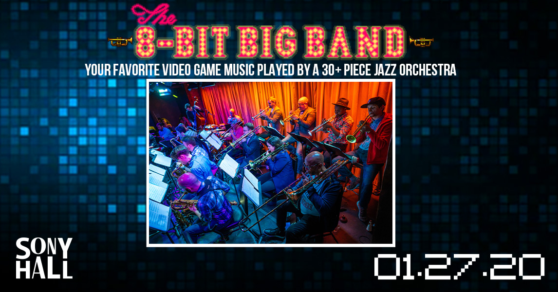 Charlie Rosen's The 8-Bit Big Band Returns to New York City 1/27/20