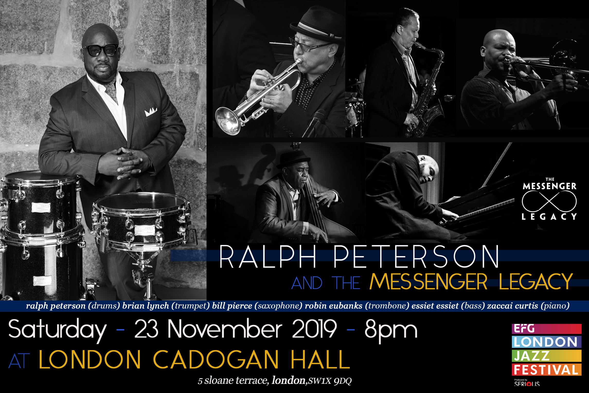 JAZZFM: Ruth Fisher Picks Ralph Peterson as London Jazz Fest Recommendation!