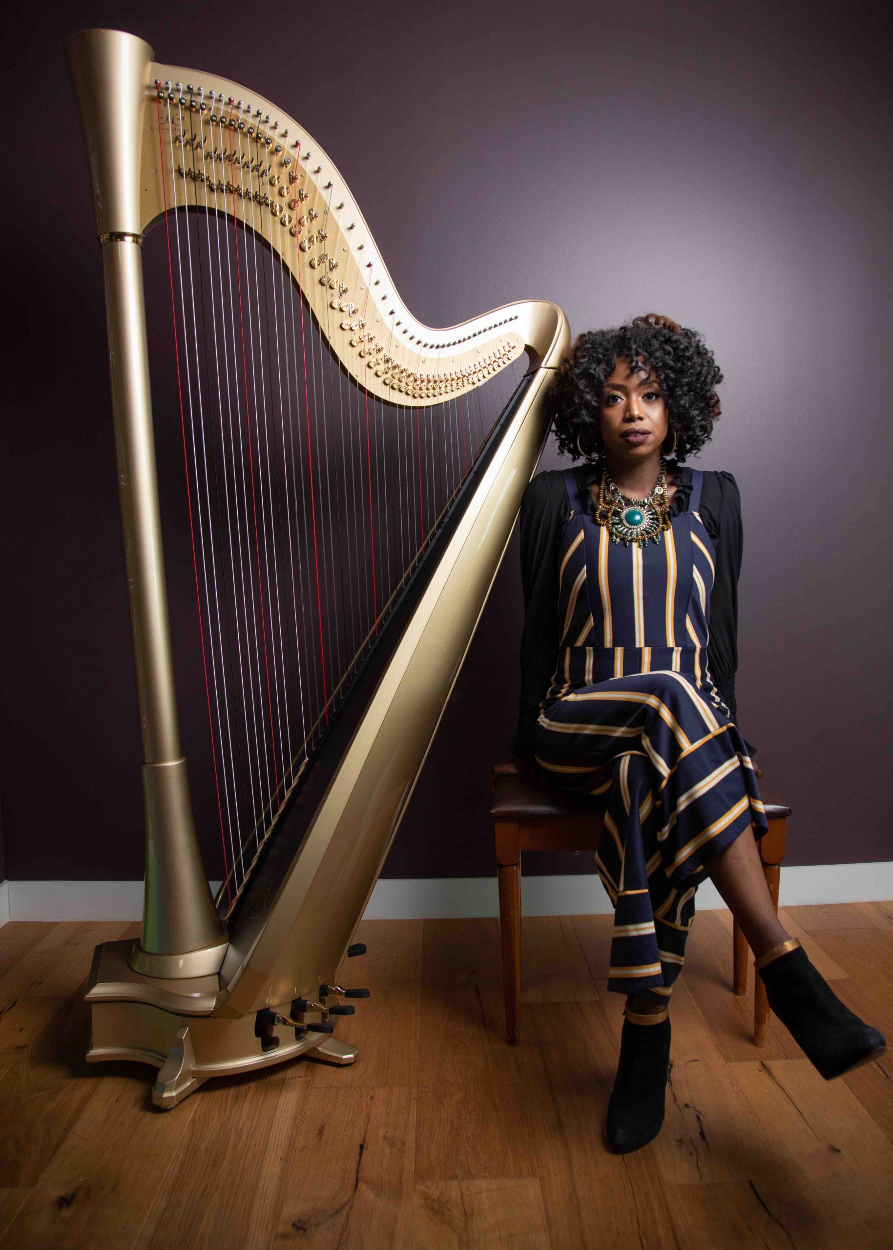 FEATURE: Brandee Younger: Paying Tribute to The Jazz Harpist Greats by She Shreds