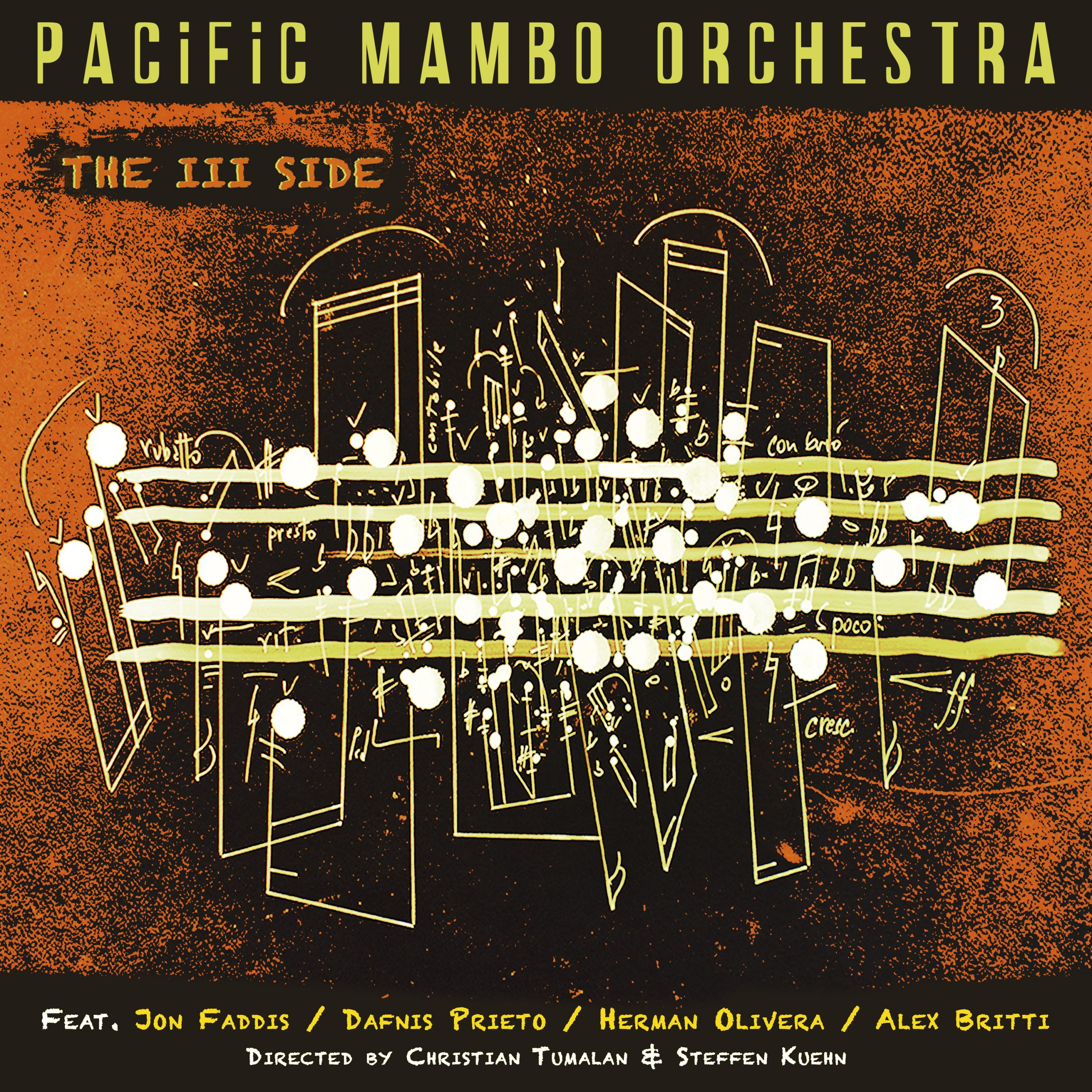 NEW RELEASE: Pacific Mambo Orchestra's THE III SIDE is Available Now!