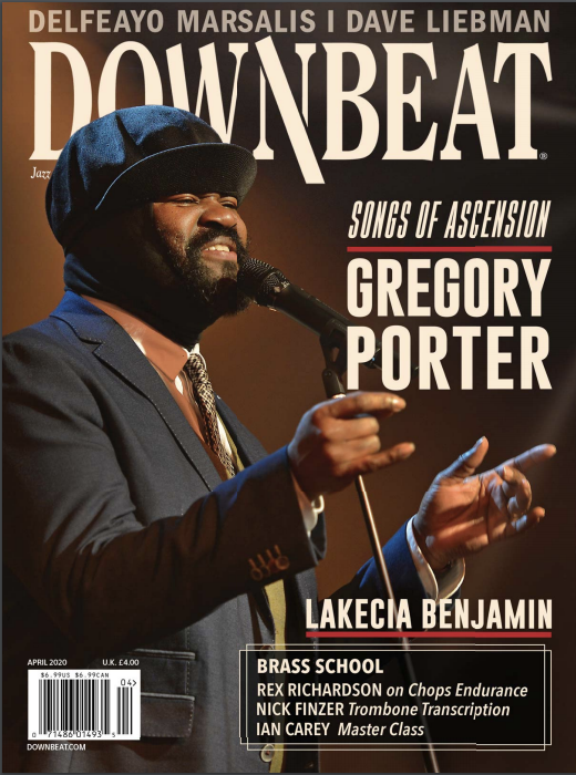 FEATURE: Lakecia Benjamin in Downbeat, April 2020