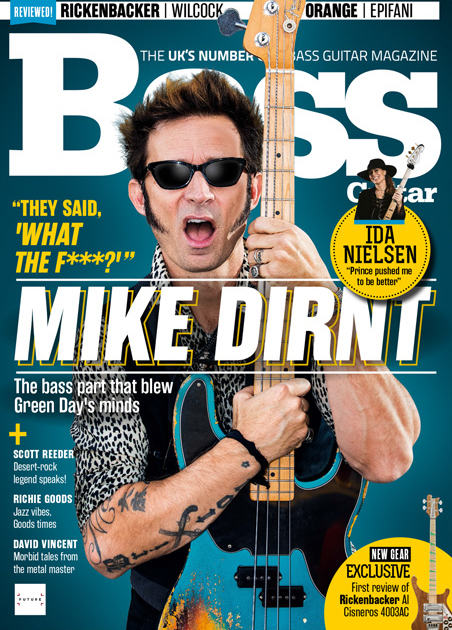 FEATURE: Richie Goods Featured in Bass Guitar and Bass Player Magazines