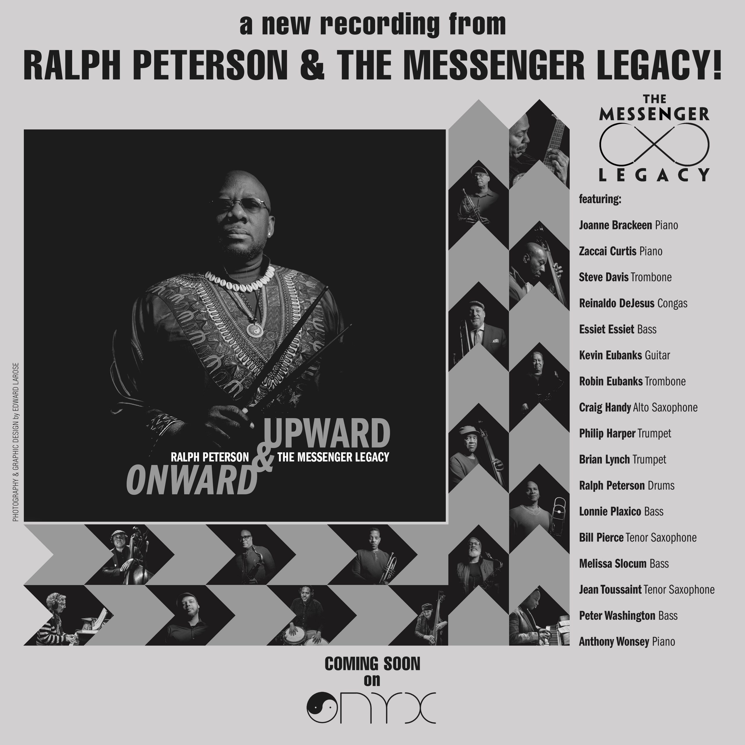 NEW RELEASE: Ralph Peterson Expands the Messenger Legacy with 'Onward & Upward' out 9/18