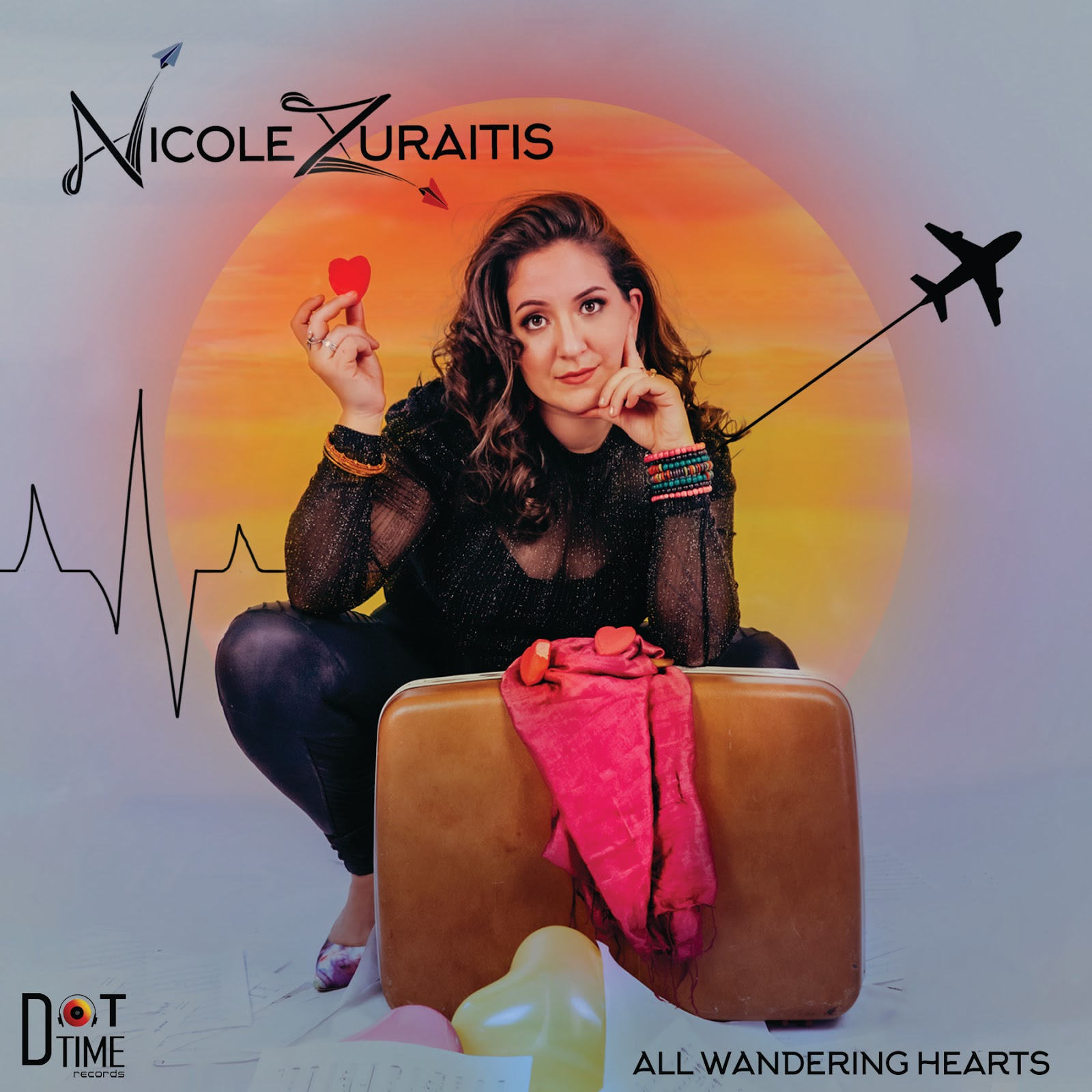 NEW RELEASE: 'All Wandering Hearts' to be Released on July 31st by Grammy® Nominated Dot Time Recording Artist Nicole Zuraitis